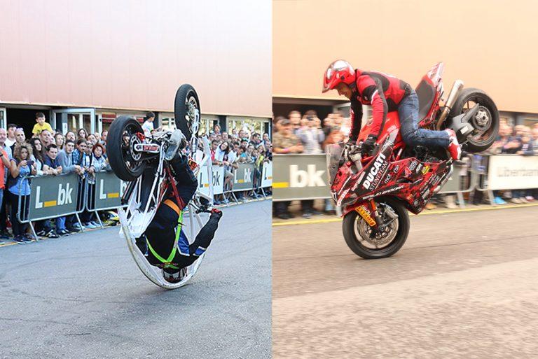 Narcis Roca y Emilio Zamora en duelo stunt show