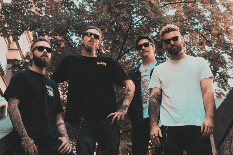 Foto de la banda de rock Free City, afincada en Valladolid
